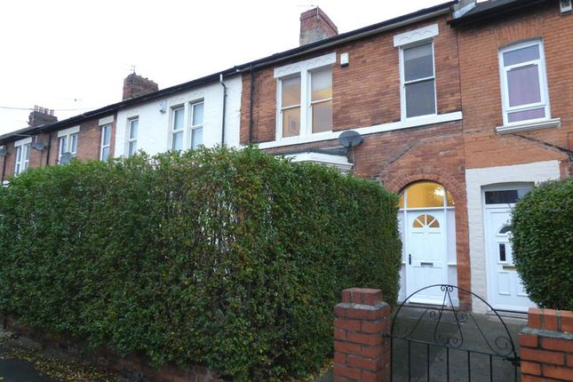 Thumbnail Terraced house for sale in Meldon Terrace, Heaton, Newcastle Upon Tyne