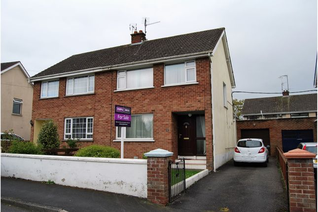Thumbnail Semi-detached house for sale in Killycomain Drive, Portadown