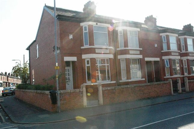 Thumbnail End terrace house to rent in Cromwell Grove, Levenshulme, Manchester