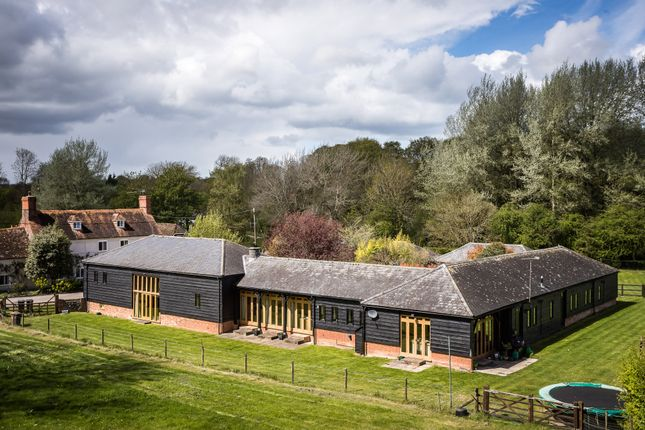 Thumbnail Barn conversion for sale in Nether Wallop, Stockbridge, Hampshire