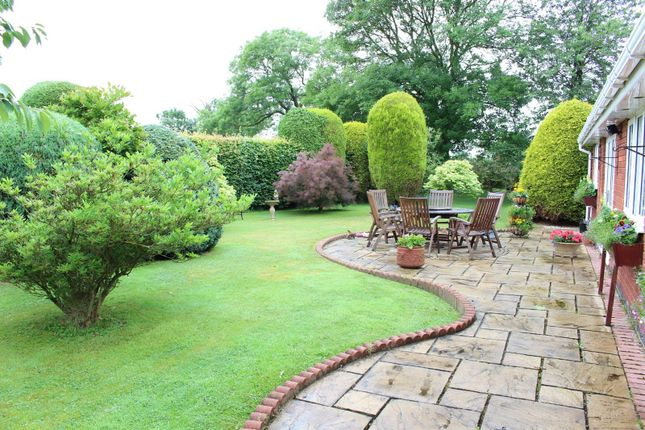 Thumbnail Detached bungalow for sale in Newton Burgoland, Leicestershire