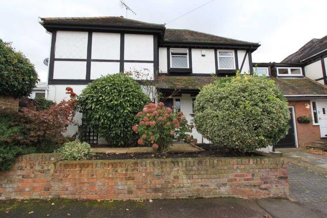 Thumbnail Semi-detached house for sale in The Poplars, Abridge, Romford