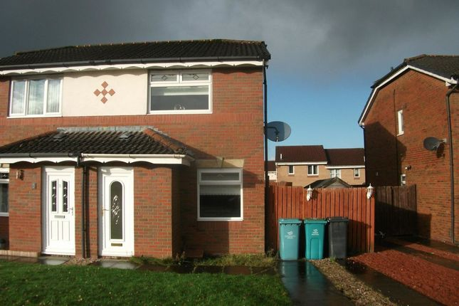 Thumbnail Semi-detached house to rent in Aitken Close, Newmains, Wishaw