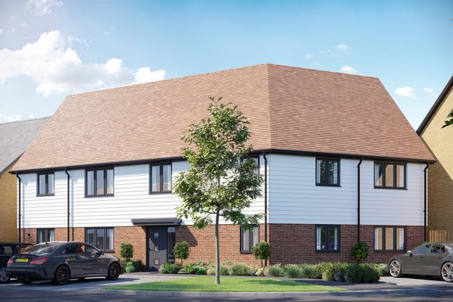 Thumbnail Flat for sale in Europa Way, Ipswich