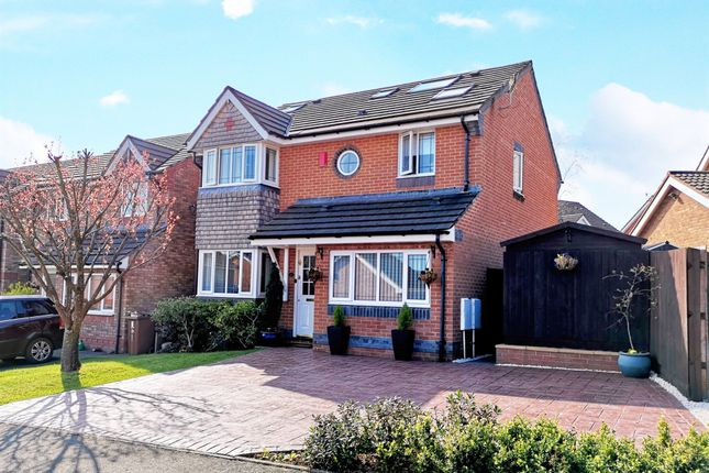 Thumbnail Detached house for sale in Ffordd Penrhos, Caerphilly