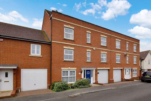 Thumbnail Town house for sale in Baker Way, Witham