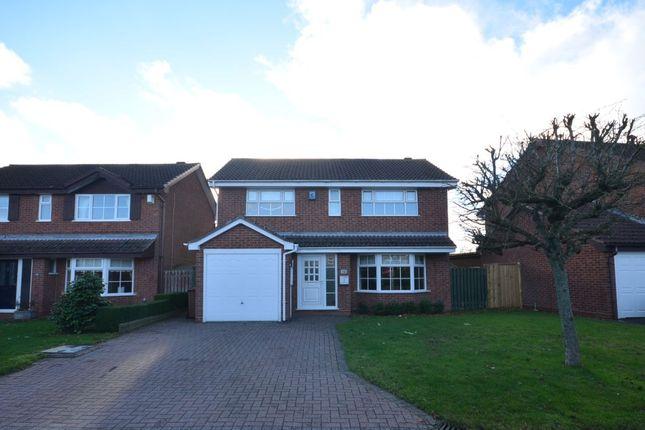 Thumbnail Detached house for sale in Rea Close, East Hunsbury, Northampton