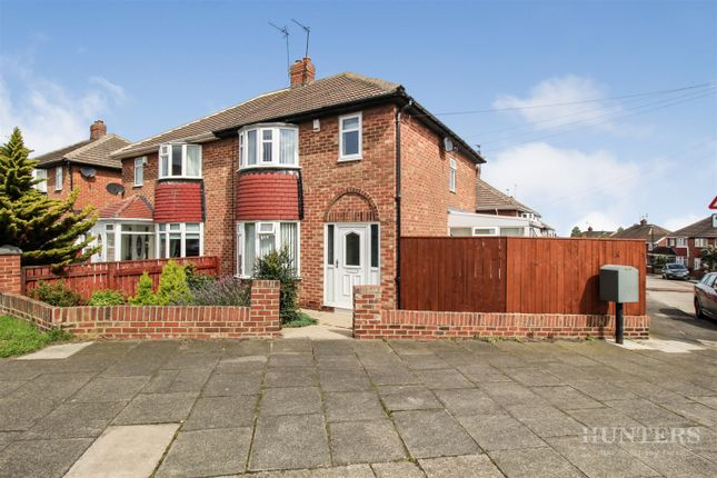 Thumbnail 3 bed semi-detached house for sale in Alston Crescent, Seaburn, Sunderland