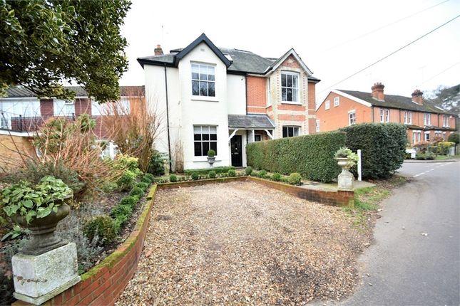 Thumbnail Semi-detached house for sale in Vicarage Road, Bagshot, Surrey