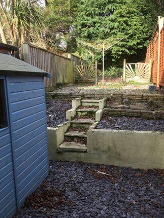 Rear Garden of Ash Grove, Ivybridge PL21