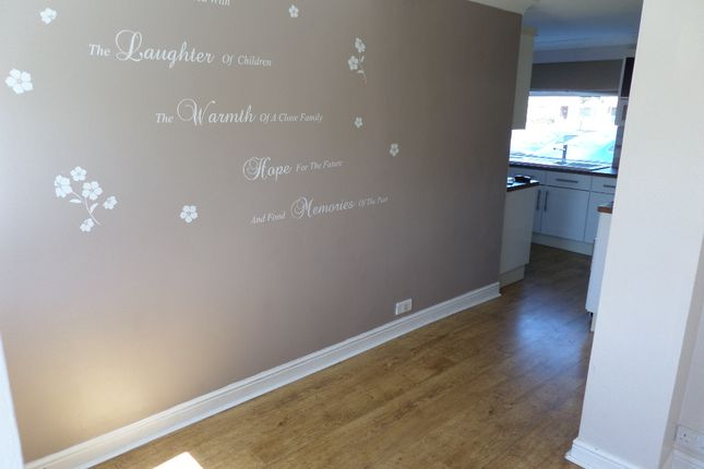 Dining Area of Bewick Crescent, Newton Aycliffe DL5