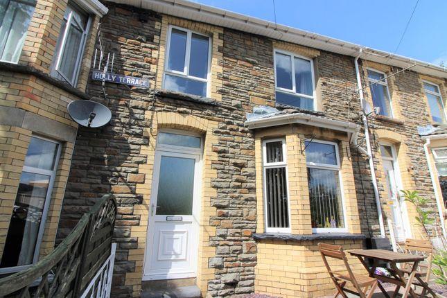 Thumbnail Terraced house for sale in Holly Terrace, Newbridge, Newport