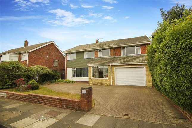 Thumbnail Detached house for sale in Wenlock Drive, North Shields, Tyne And Wear
