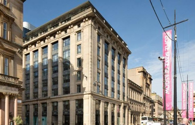 Office to let in George Square, Glasgow