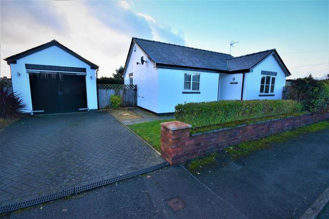 Thumbnail Detached bungalow for sale in Dee Park, Holt, Wrexham