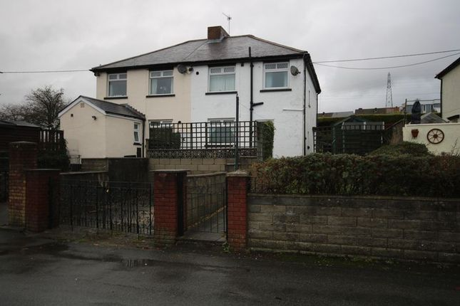 Thumbnail Semi-detached house for sale in Bronawelon, Crumlin, Newport