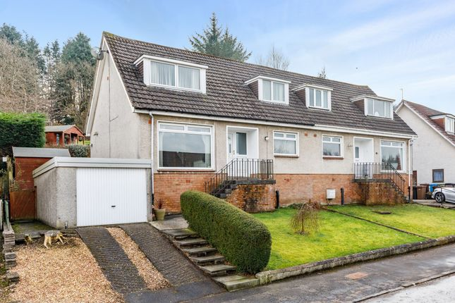 Thumbnail Semi-detached bungalow for sale in 33 Rodger Avenue, Newton Mearns
