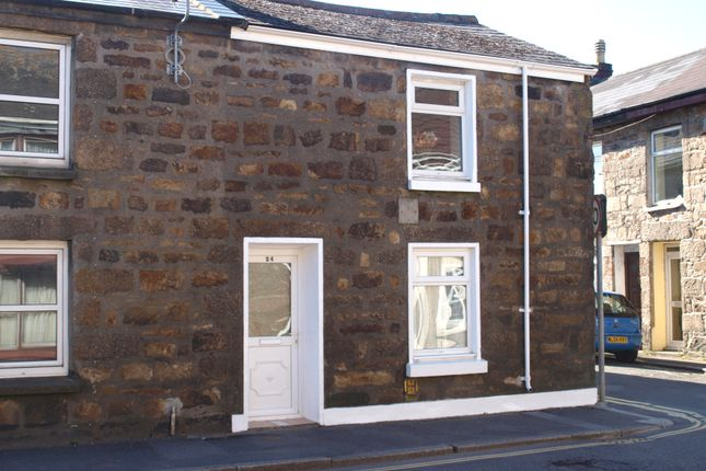 Thumbnail End terrace house to rent in Centenary Street, Camborne