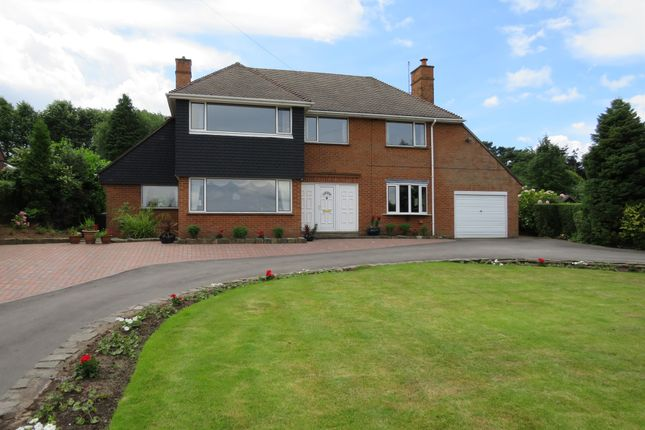 Thumbnail Detached house for sale in Ashby Road, Bretby, Burton-On-Trent