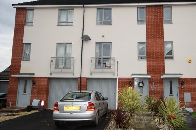 Thumbnail Town house to rent in Great Copsie Way, Bristol