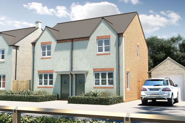 "Thumbnail Semi-detached house for sale in ""The Hindhead"" at Oakley Wood Road, Bishops Tachbrook, Leamington Spa"