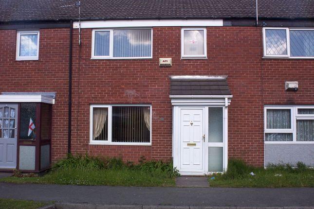 Thumbnail Terraced house to rent in Bridge Close, Partington