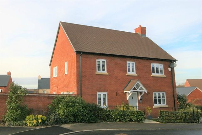 Thumbnail Detached house for sale in Cowslip Close, Wootton, Northampton