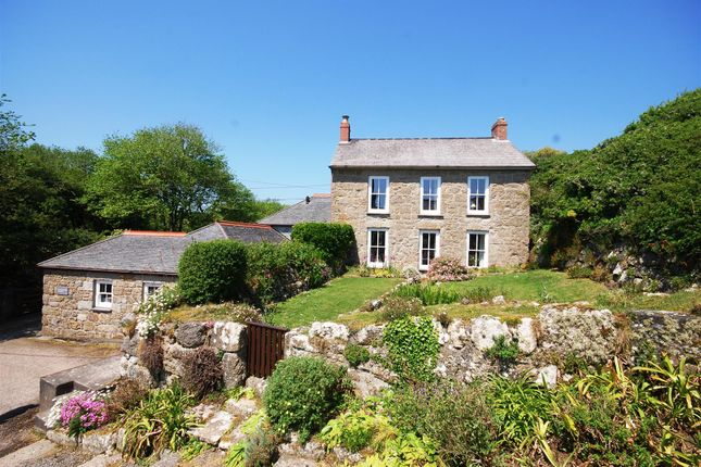 Thumbnail Detached house for sale in Underhill, Churchtown, Porthcurno, St Levan