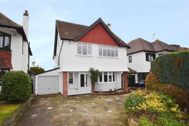 Thumbnail Detached house for sale in Leasway, Westcliff-On-Sea, Essex