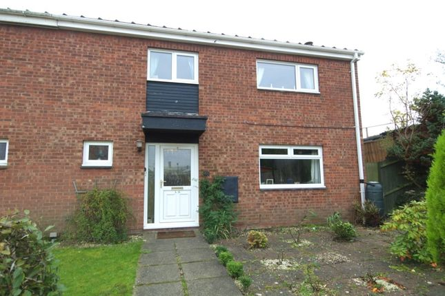 Thumbnail Semi-detached house for sale in Honey Close, East City, Norwich