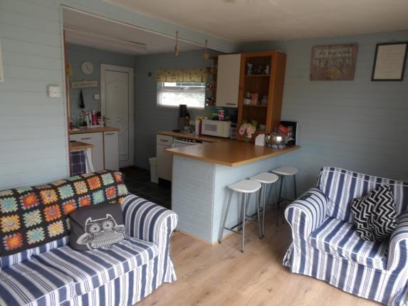 Kitchen/ Living of Glan Gwna Holiday Park, Caeathro, Caernarfon, Gwynedd LL55