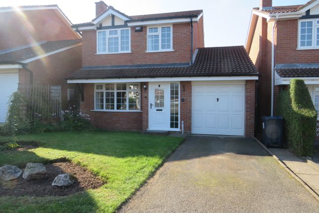 Thumbnail Detached house to rent in Shelley Drive, Sutton Coldfield