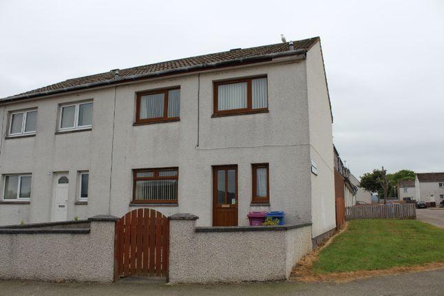 Thumbnail Semi-detached house for sale in Raffan Road, Buckie