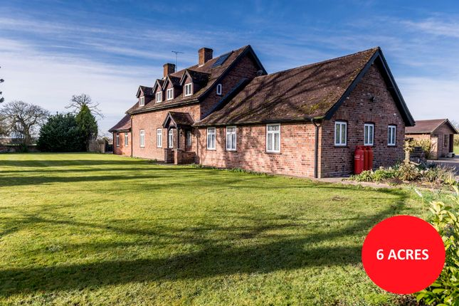 Thumbnail Detached house for sale in Hurn Road, Holbeach Hurn, Spalding, Lincolnshire