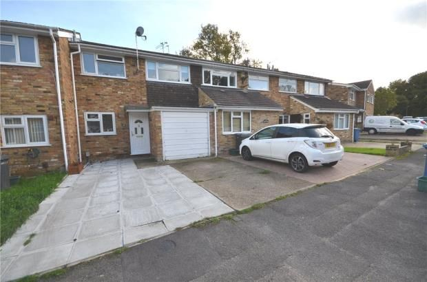 Thumbnail Terraced house for sale in Baileys Close, Blackwater, Surrey