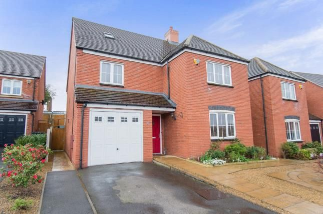 Thumbnail Detached house for sale in The Paddock, Curdworth, Sutton Coldfield, Warwickshire