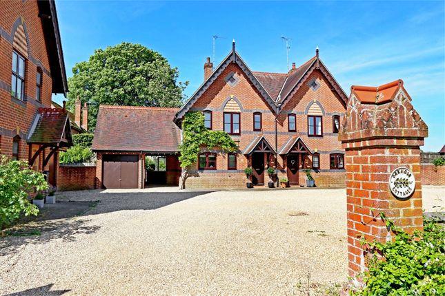 Thumbnail Semi-detached house for sale in Oakmoor Cottages, Bradley, Hampshire