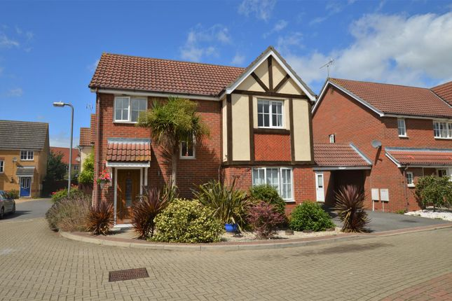 Thumbnail Detached house for sale in Purvis Way, Highwoods, Colchester