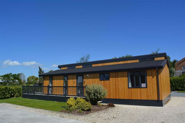 Thumbnail Detached bungalow for sale in Cliffe Country Lodges, Cliffe, Cliffe Common