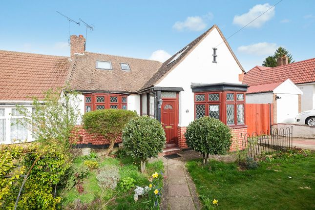 Thumbnail Semi-detached bungalow for sale in The Meadway, Chelsfield, Orpington