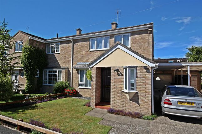 Thumbnail Semi-detached house for sale in Glenacre Close, Cherry Hinton, Cambridge