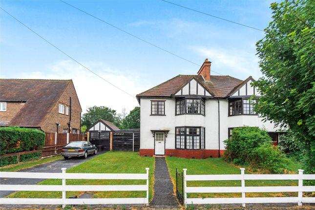 Thumbnail Semi-detached house for sale in Hawes Lane, West Wickham
