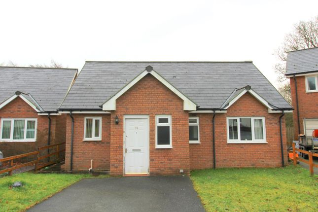 Thumbnail Detached bungalow for sale in Bryn Steffan, Lampeter