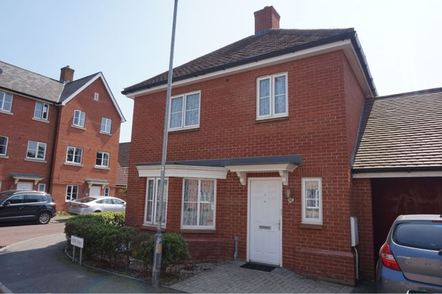 Thumbnail Detached house for sale in Kirk Way, Colchester