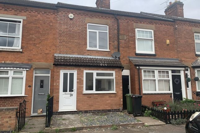 2 bed terraced house to rent in Harcourt Road, Wigston LE18