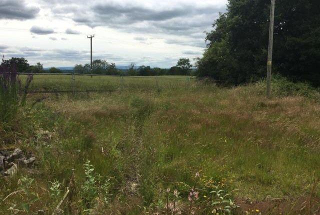 Land for sale in Shobdon, Herefordshire
