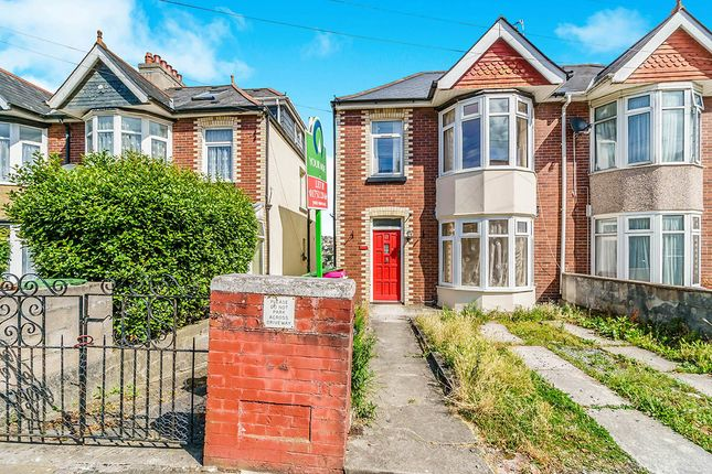 Thumbnail Semi-detached house to rent in Ladysmith Road, Lipson, Plymouth