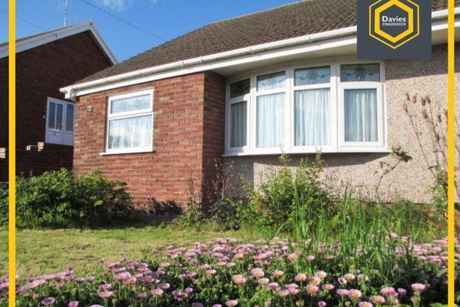 Thumbnail Semi-detached bungalow for sale in Bryn Siriol, Pen-Y-Gaer, Felinfoel, Llanelli
