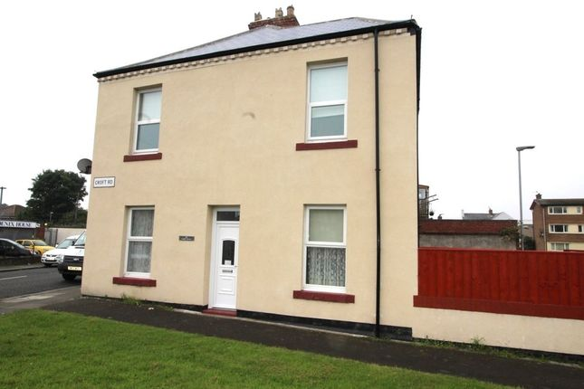 Thumbnail Semi-detached house to rent in Croft Road, Blyth