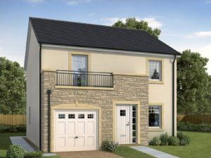 Thumbnail Detached house for sale in The Blair, The Crescent By Langbank, Port Glasgow